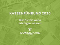 Mandanteninfo Kassenführung 2020