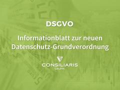 DSGVO - Informationsblatt zur neuen Datenschutz-Grundverordnung